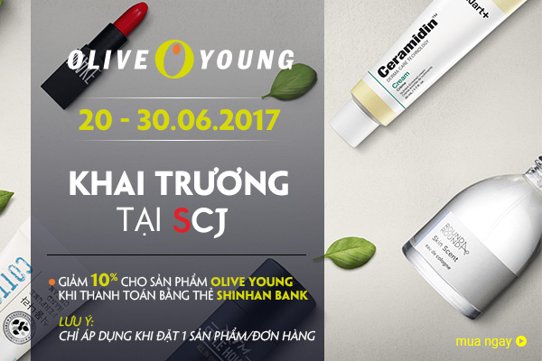 OLIVE YOUNG & SHINHAN