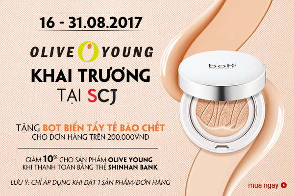 OLIVE YOUNG & SHINHAN AUG 2